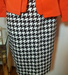 The Limited Houndstooth pencil skirt sz 0